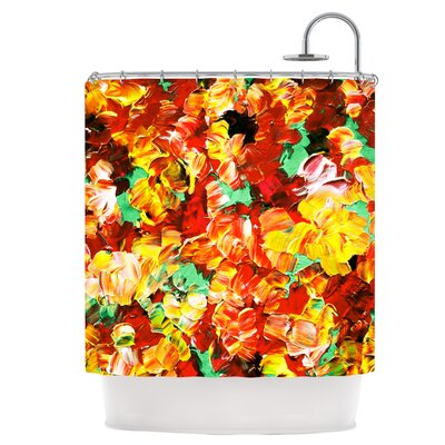 Floral Fantasy II Shower Curtain