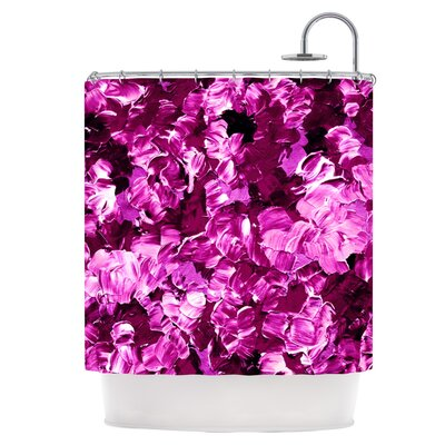 Floral Fantasy III Shower Curtain
