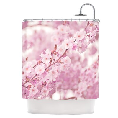 Endless Cherry Shower Curtain