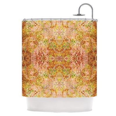 Goldenrod II Shower Curtain