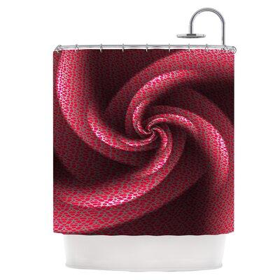 Isabellas Pinwheel Shower Curtain