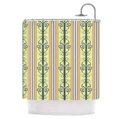 Blooming Trellis Shower Curtain
