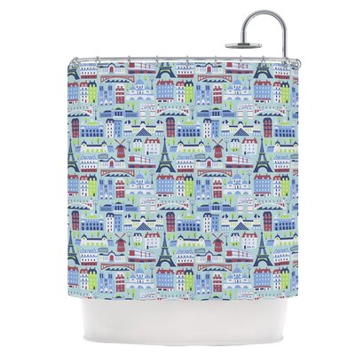 JAdore Paris Shower Curtain