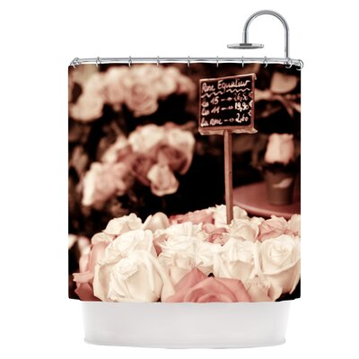 Flower Market Shower Curtain