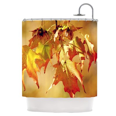 Autumn Leaves Shower Curtain