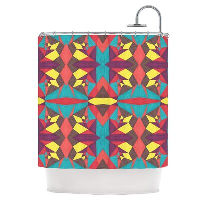 Abstract Insects Shower Curtain