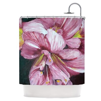 Day Lily Blooms Shower Curtain