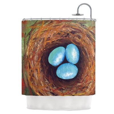 Robins Eggs Shower Curtain