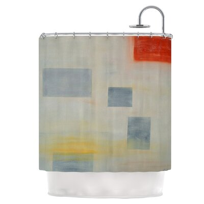 Map to Childhood Shower Curtain