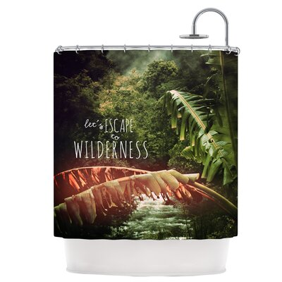 Escape to Wilderness Shower Curtain