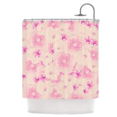 Blush Bouquet Shower Curtain