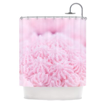 Cupcake Pink Shower Curtain