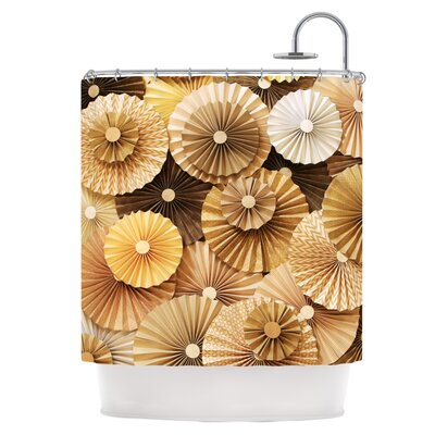 Caramel Latte Shower Curtain
