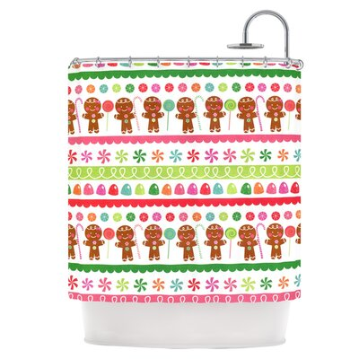 Gumdrop Buttons Shower Curtain