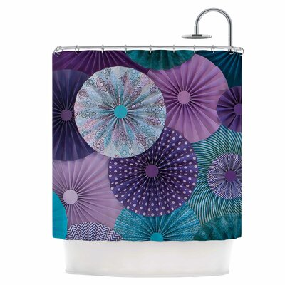 Amethyst Glacier Shower Curtain