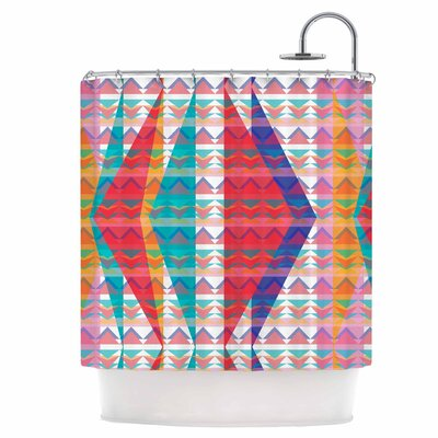 Triangle Illusion Shower Curtain