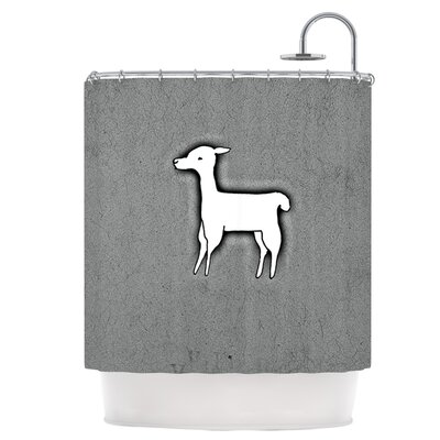 Llama One Shower Curtain