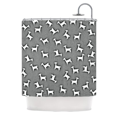 Llama Multi Shower Curtain