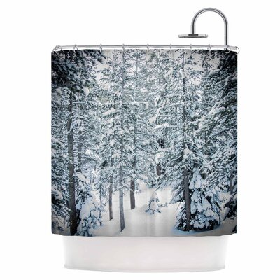 Winter Trials Shower Curtain