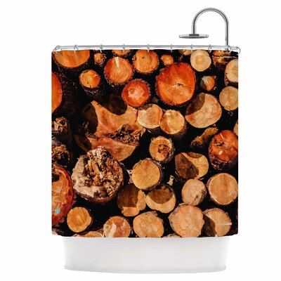 The Lumber Yard Shower Curtain