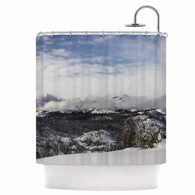 Top of The Summit Shower Curtain