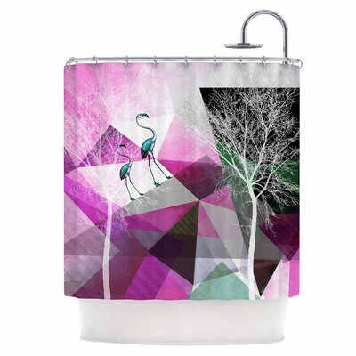 Flamingo P22 Shower Curtain