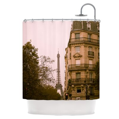 Lady Beckons Shower Curtain
