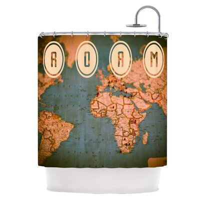 Roam II Shower Curtain