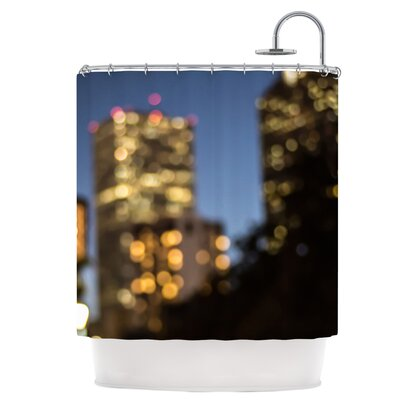 Nola at Night Shower Curtain