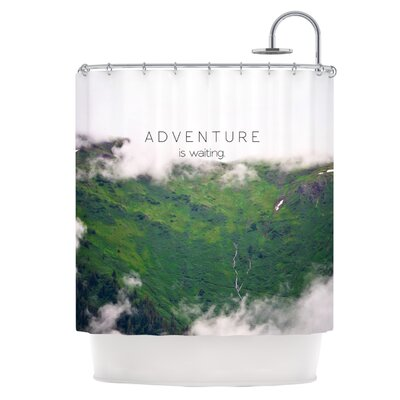 Adventure is Waiting Shower Curtain