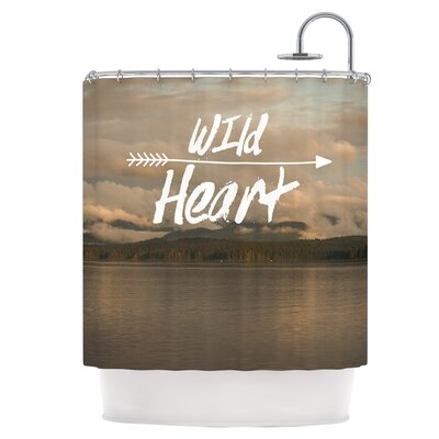 Wild Heart Shower Curtain
