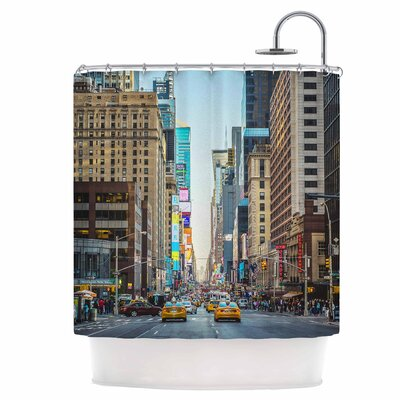Over 7th Shower Curtain