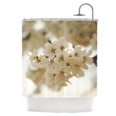Flowering Pear Shower Curtain
