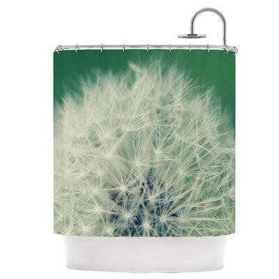 Fuzzy Wishes Shower Curtain