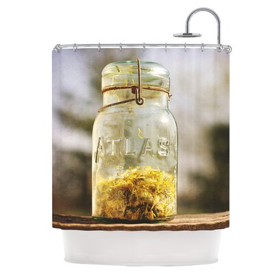Jar of Sunshine Shower Curtain