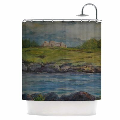 Castle Ruins Shower Curtain