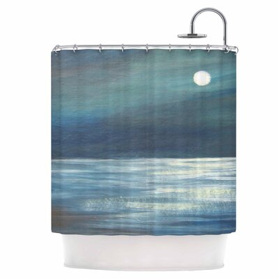 A Walk in The Moonlight Shower Curtain