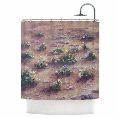 Desert Weeds Shower Curtain