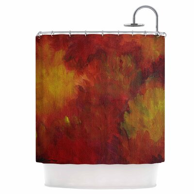 Winsor Flower Shower Curtain