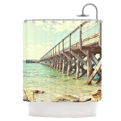 On The Pier Shower Curtain