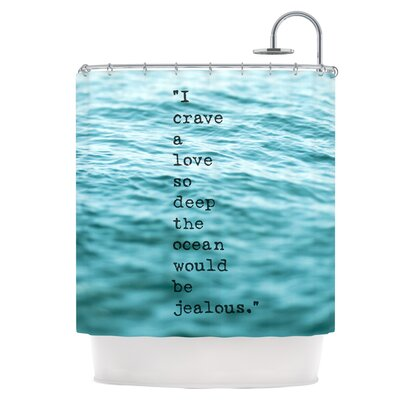 Crave Love Shower Curtain