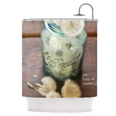 Jar of Wishes Shower Curtain