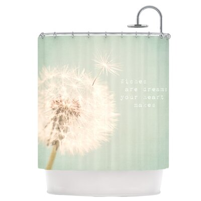 Wishes Are Dreams Shower Curtain
