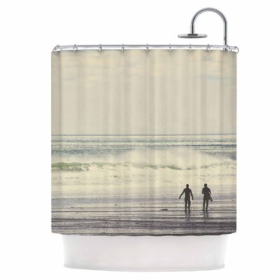 Sun & Surf Shower Curtain