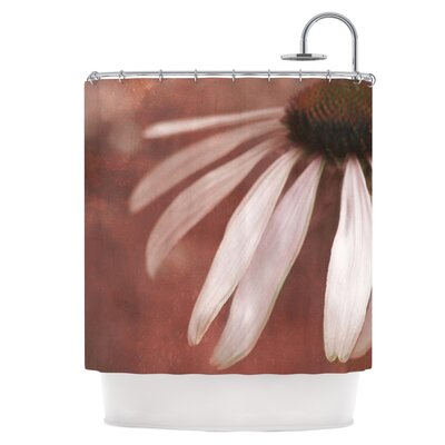 Copper and Pale Pink Shower Curtain