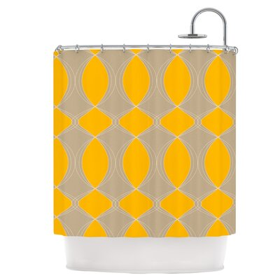 Geometries in Yellow Shower Curtain