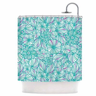 My Flowers Shower Curtain