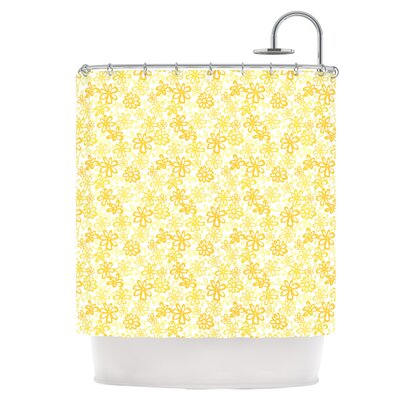 Paper Daisy Shower Curtain