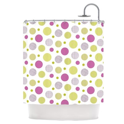 Rhapsody Dot Shower Curtain