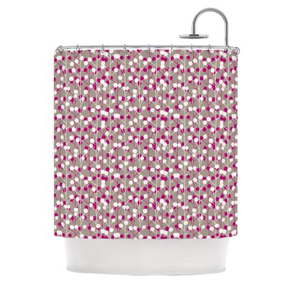 Wineberry Shower Curtain